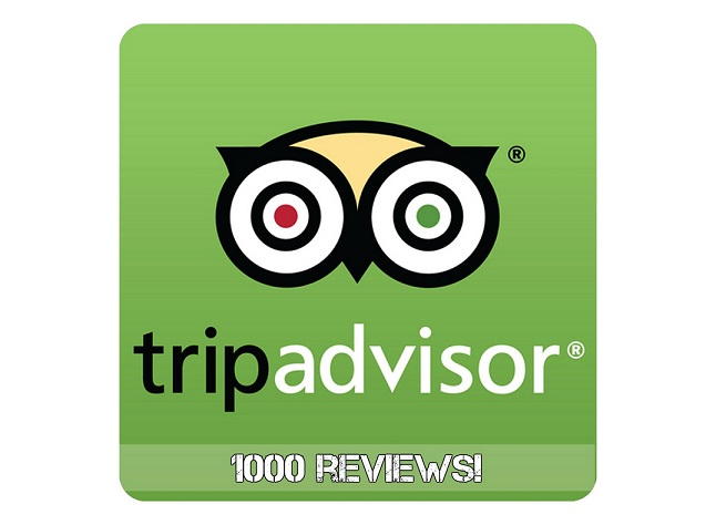 Kenmare Bay has 1000 Tripadvisor reviews