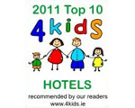 Kenmare Bay Hotel & Resort 4Kids 2011 Award