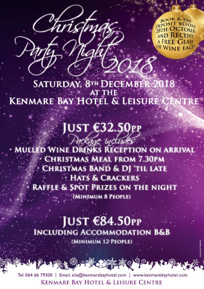 Christmas Party Night in Kenmare