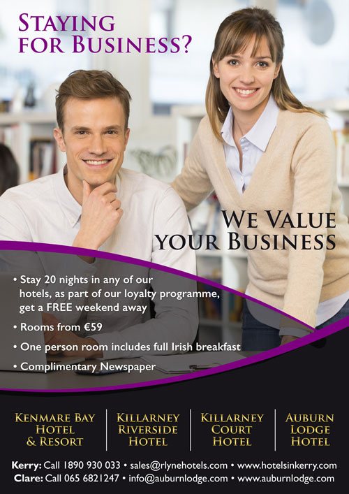 Corporate Kenmare Hotel Offers