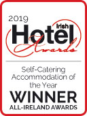Irish Hotel Awards Self Catering Accommodation Winner