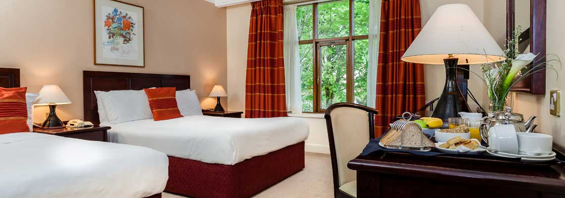 Kenmare Bay Hotel Accommodation - Double/Single Rooms