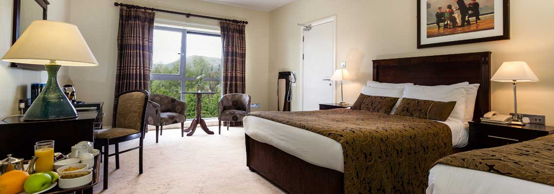 Kenmare Bay Hotel Accommodation - Double Room
