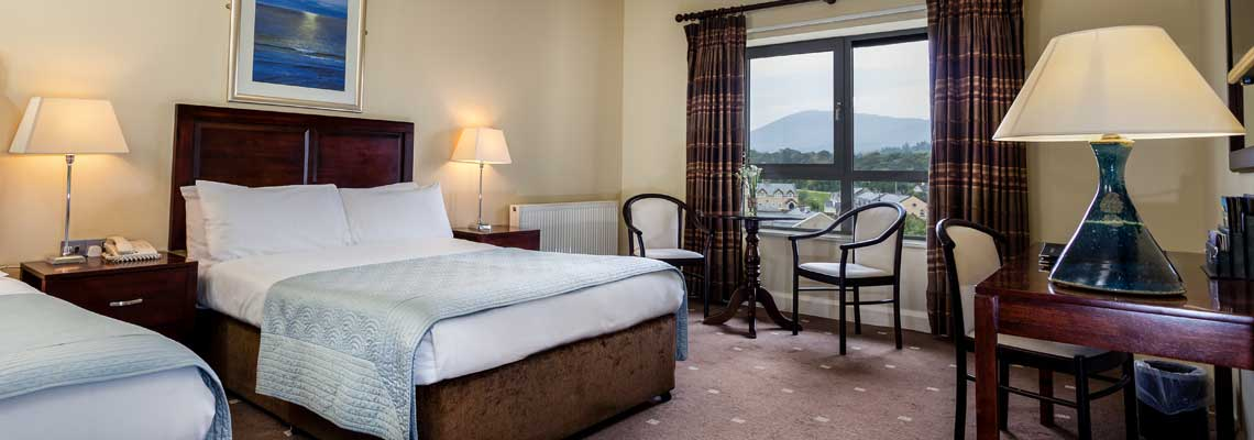 Kenmare Bay Hotel Accommodation - Superior Rooms
