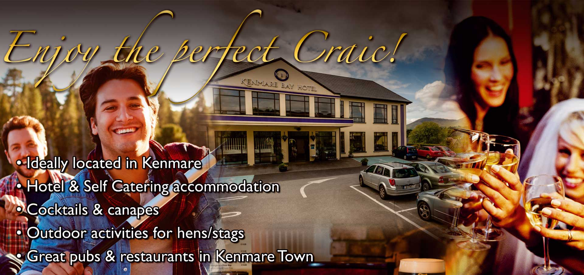 Kenmare Hotel Hens & Stags, Groups